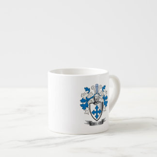 Miller Family Crest Coat of Arms Espresso Cup