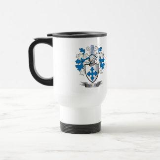 Miller Family Crest Coat of Arms Travel Mug