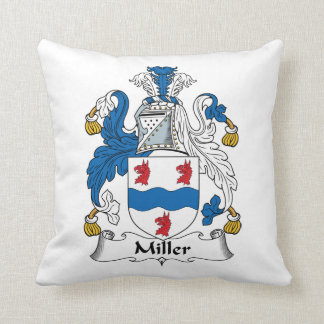 Miller Family Crest Cushion