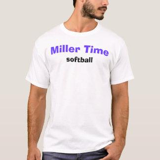 Miller Time, softball T-Shirt