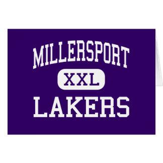 Millersport - Lakers - High - Millersport Ohio Greeting Card