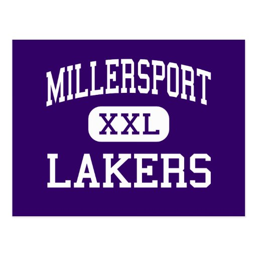 Millersport - Lakers - High - Millersport Ohio Postcard