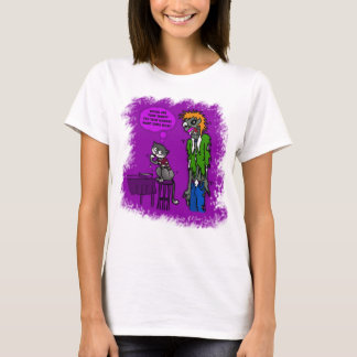 Millie and Zombie White T-Shirt