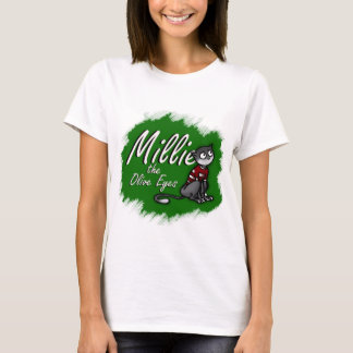 Millie the Olive Eyes Women's T-Shirt 1