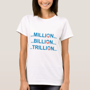 Million Billion Trillion Gifts on Zazzle AU