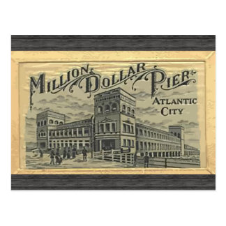 Million Dollar Pier Atlantic City, Vintage Postcard