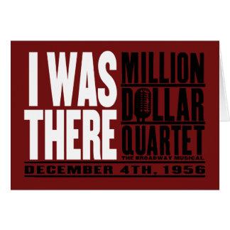 "Million Dollar Quartet ""I Was There"" Card"