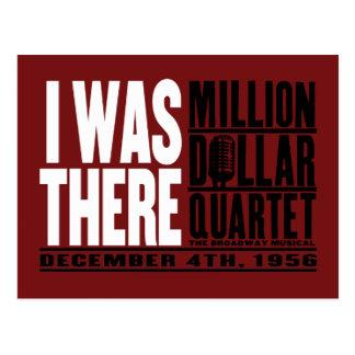 "Million Dollar Quartet ""I Was There"" Postcard"