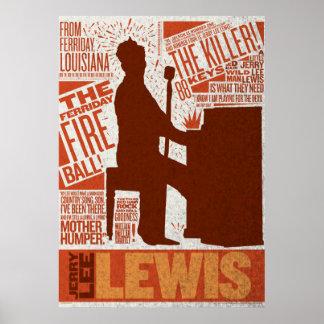 Million Dollar Quartet Lewis Type Poster