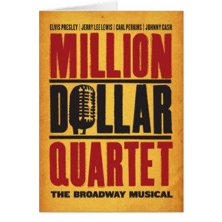 Million Dollar Quartet Logo Card