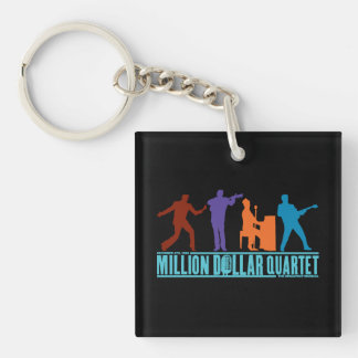 Million Dollar Quartet On Stage Key Ring