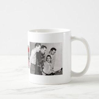 Million Dollar Quartet Photo Basic White Mug