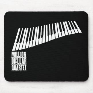 Million Dollar Quartet Piano - White Mouse Pad