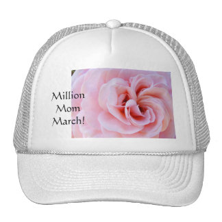 Million Mom March! sports caps hat Pink Rose