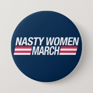 Million Women March button badge