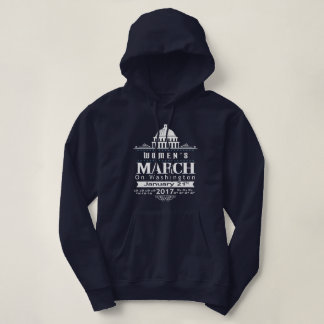 Million Women's March on Washington 2017 Blue Hoodie