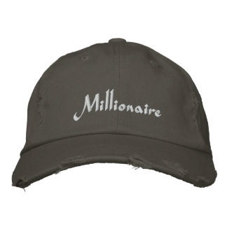 Millionaire Cap / Hat