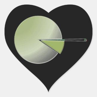 Millions & Billions Heart Sticker