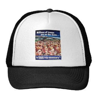 Millions Of Troops Trucker Hats