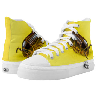MILLIPEDE YELLOW HIGH TOPS