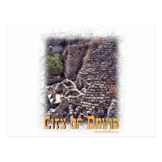 Millo in the City of David, Jerusalem Postcard