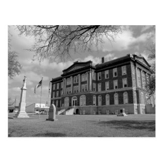 Mills County Courthouse (Texas) - Post Card