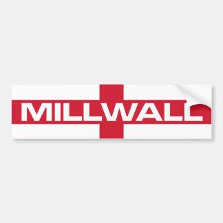 Millwall England Flag Bumper Sticker