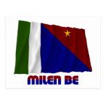 Milne Bay Province Waving Flag