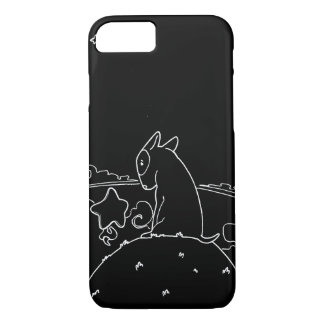 Milo Black & White (Original Bull Terrier Artwork) iPhone 7 Case