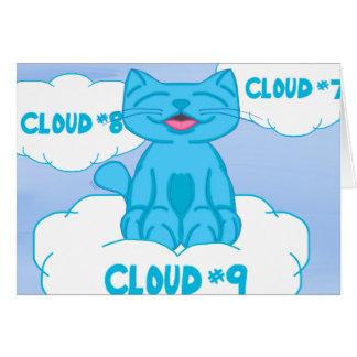 Milo On Cloud Nine Get Well Card