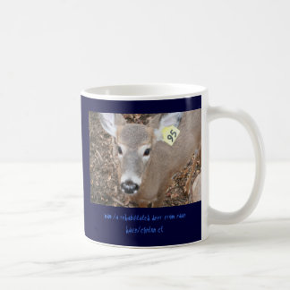 milo the deer basic white mug