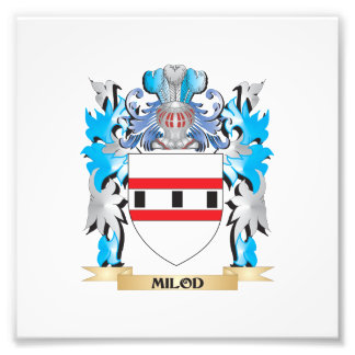 Milod Coat of Arms - Family Crest Photo Art