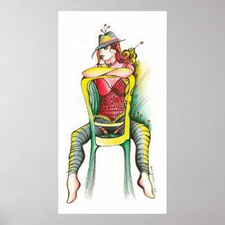 Milonguerita Tango Poster