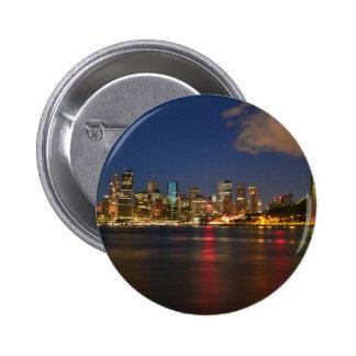 Milsons Point, Sydney, Australia 6 Cm Round Badge