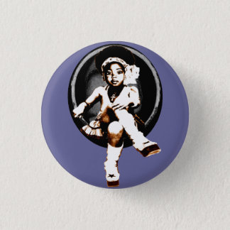 Miltant Toddler Girl: Soul Egg 3 Cm Round Badge