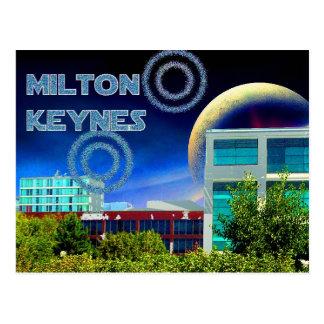 Milton Keynes  postcard
