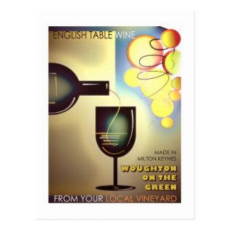 Milton Keynes' Winemakers vintage postcard