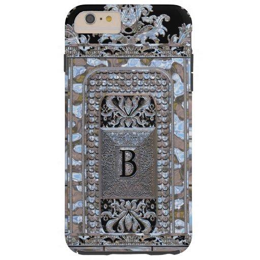 Miltonshire Vogue Monogram B Tough iPhone 6 Plus Case