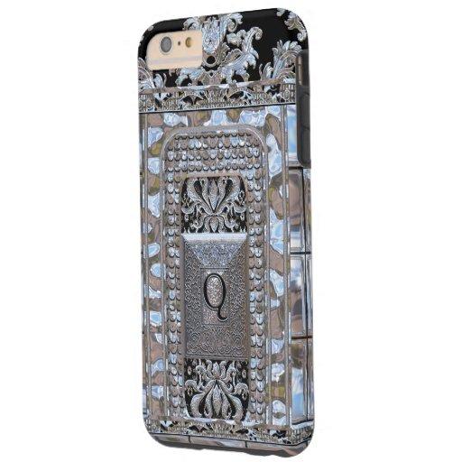 Miltonshire Vogue Monogram Q Tough iPhone 6 Plus Case