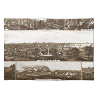 Milwaukee 1882 placemat