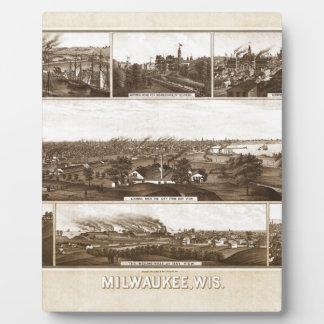 Milwaukee 1882 plaque
