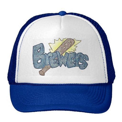 Milwaukee Brewers Baseball Cap Mesh Hats