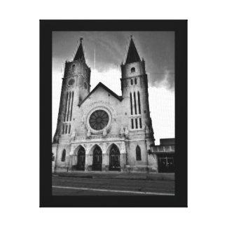 Milwaukee Church Canvas Print
