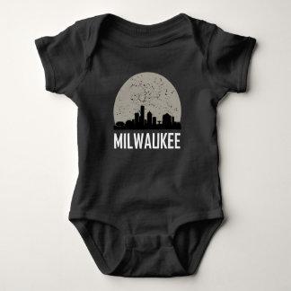 Milwaukee Full Moon Skyline Baby Bodysuit