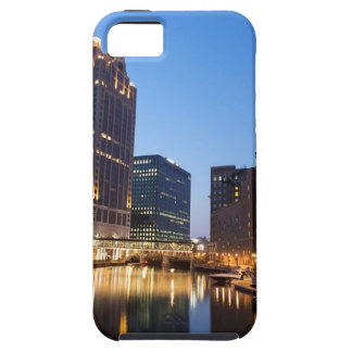 Milwaukee Night Skyline Tough iPhone 5 Case