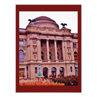 Milwaukee Public Library Photo Print