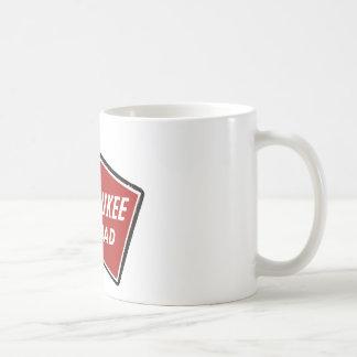 Milwaukee Road Railway Sign 2 Coffee Mug