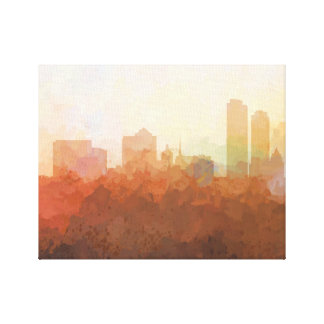 MILWAUKEE SKYLINE-In the Clouds Canvas