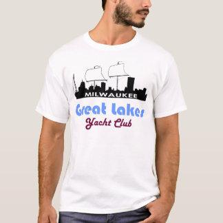 Milwaukee Themed Sailing Ship Yacht T-Shirt