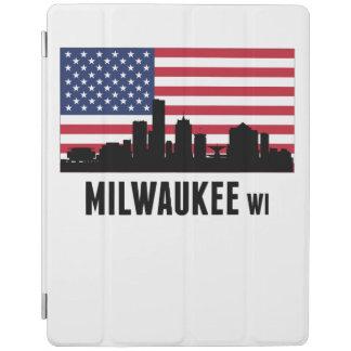 Milwaukee WI American Flag iPad Cover